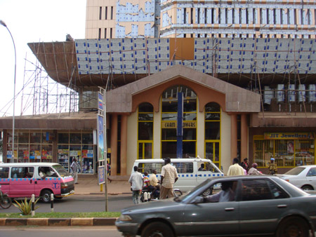Cham Towers Kampala, new Shopping Mall