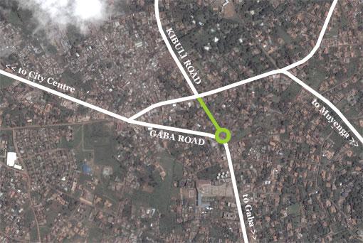 Proposed Gaba Road-Kibuli Road link
