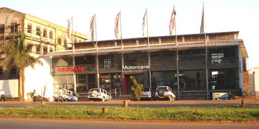 Nissan Motorcare building, Kampala
