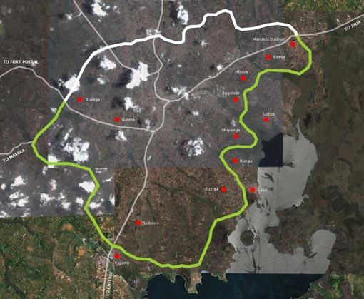 Proposed Southern Bypass, Kampala